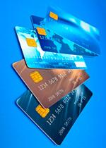 Klassische Kreditkarte
