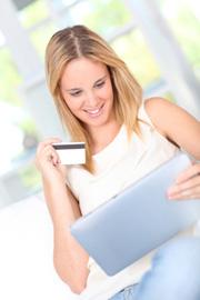 Kreditkarte im Interneteinsatz