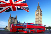 Kreditkarte für England